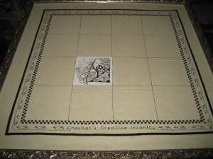 Mosaic Board in Use