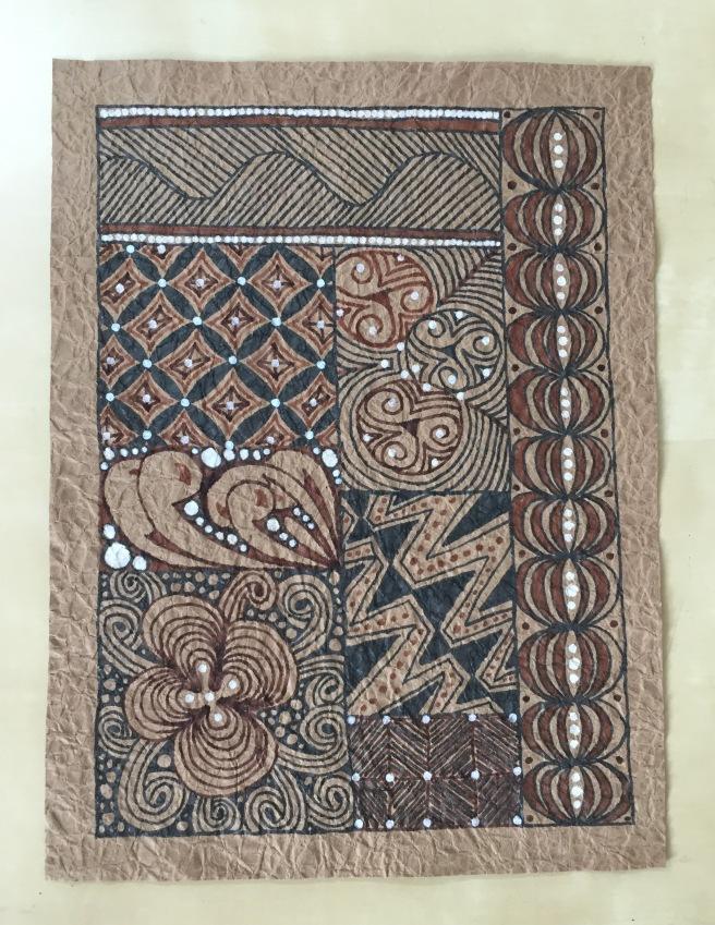 Paper Bag Kente Cloth