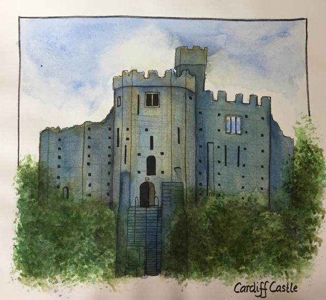 cardiff-castle-watercolor
