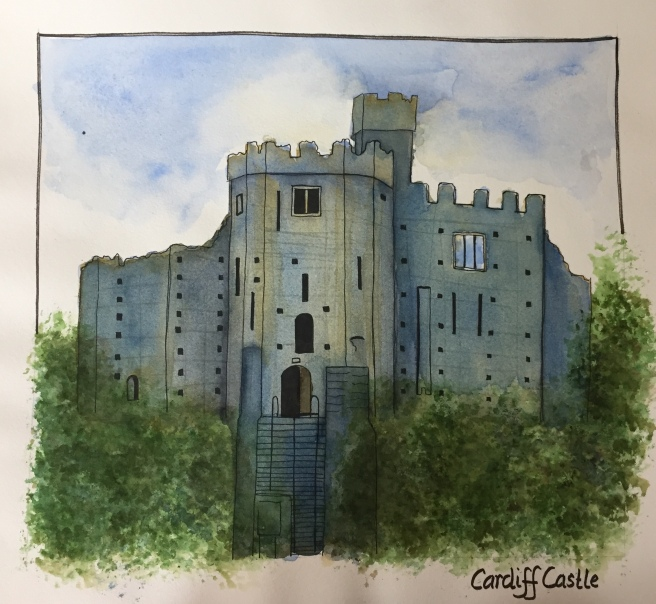 cardiff-castle-watercolor