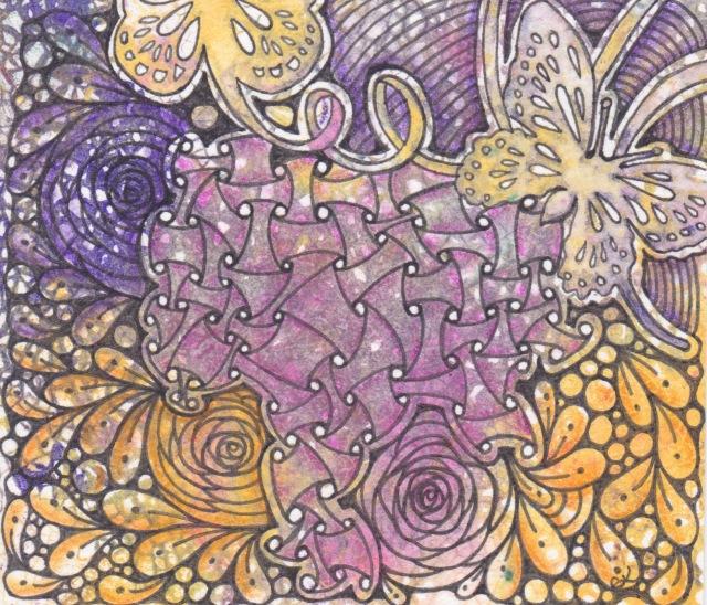 monoprint-butterflies