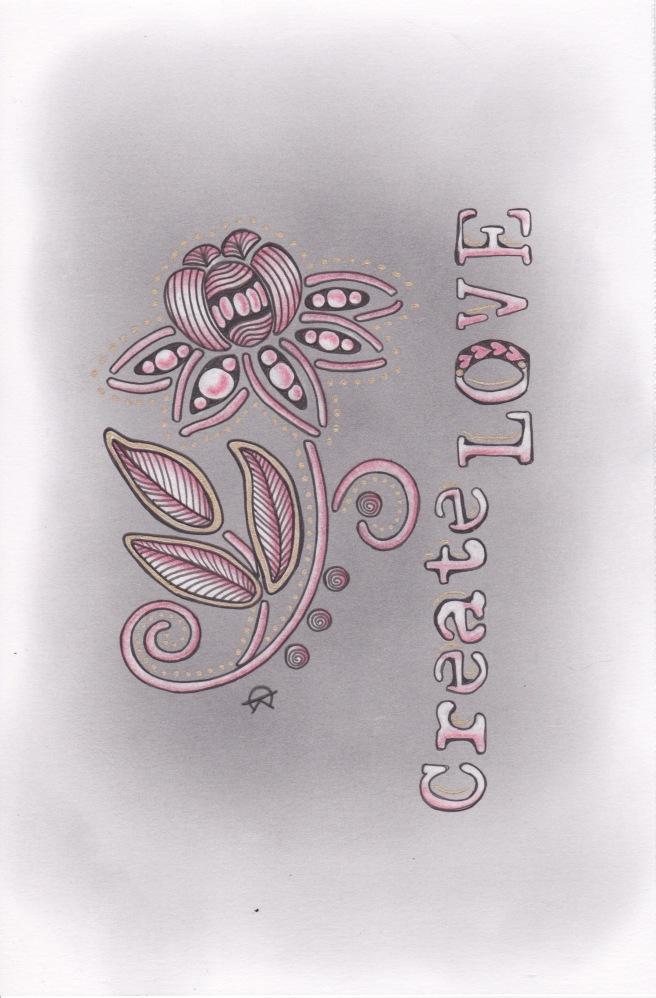 Zero Drawing Create Love