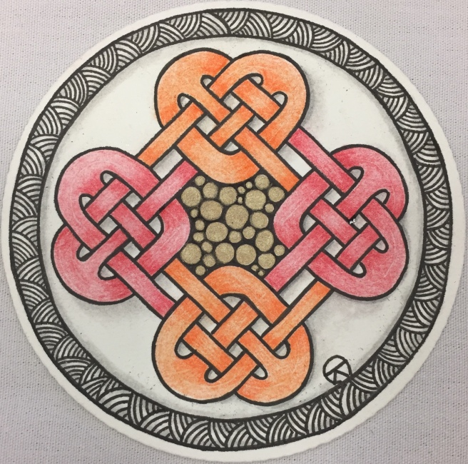 Celtic Hearts - Polychromos
