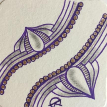 Rewind - Splash of Color - Purple