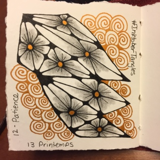 Day 12 Patience Day 13 Printemps